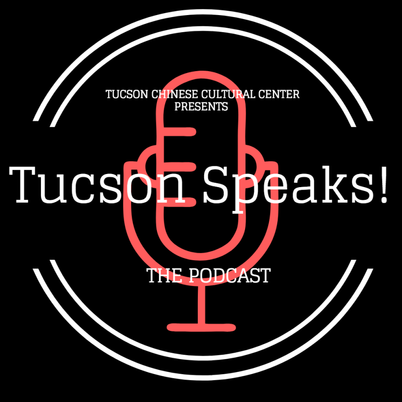 Tucson Speaks!: The Podcast Official Logo